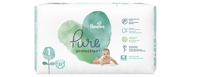 Plenky Pampers Pure 400